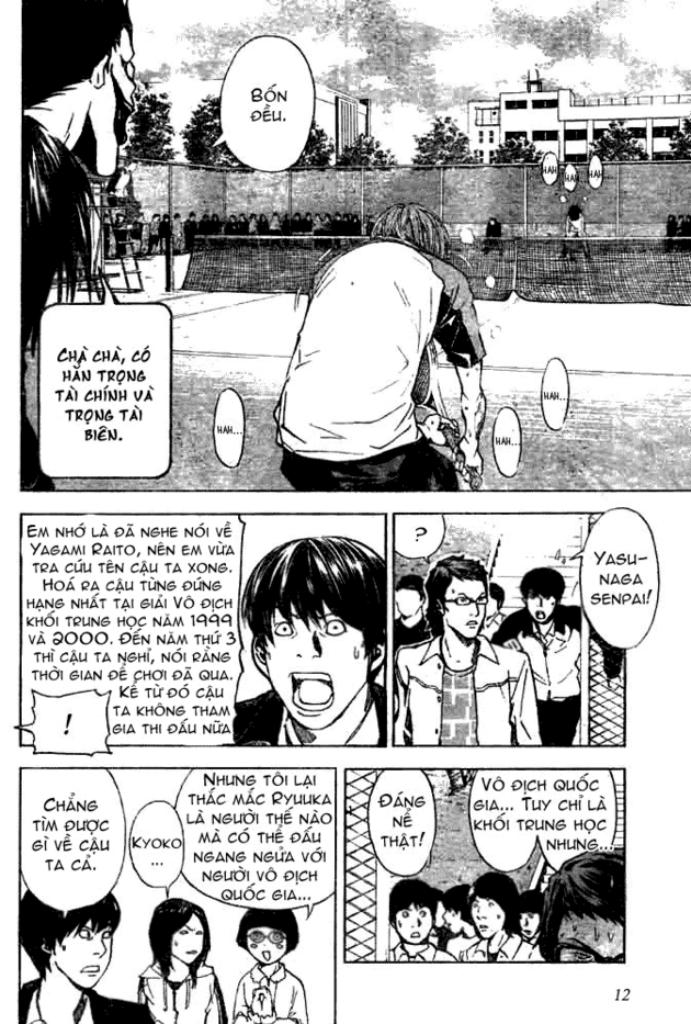 Death Note chapter 020 trang 13
