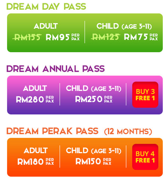 Harga tiket Movie Animation Park Studio (MAPS) Perak