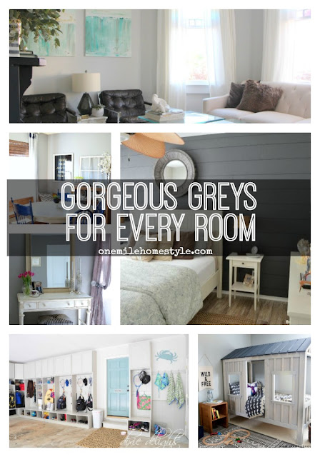 Looking For the Perfect Neutral? Gorgeous Greys For Every Room - One Mile Home Style
