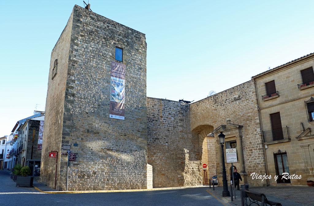 Torre albarrana y Puerta de Úbeda, Baeza. Jaén