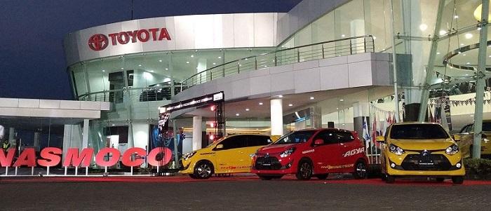 Toyota Agya Terpilih Sebagai Kendaraan Resmi Asia Auto Gymkhana Competition 2017
