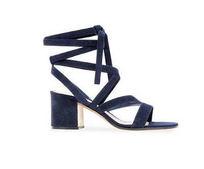 Gianvito Rossi Spring Summer 2016 Shoes  Janis Low wrap around sadals with mid block heel