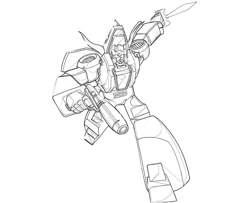 Transformers Fall Of Cybertron Slag Art Coloring Pages