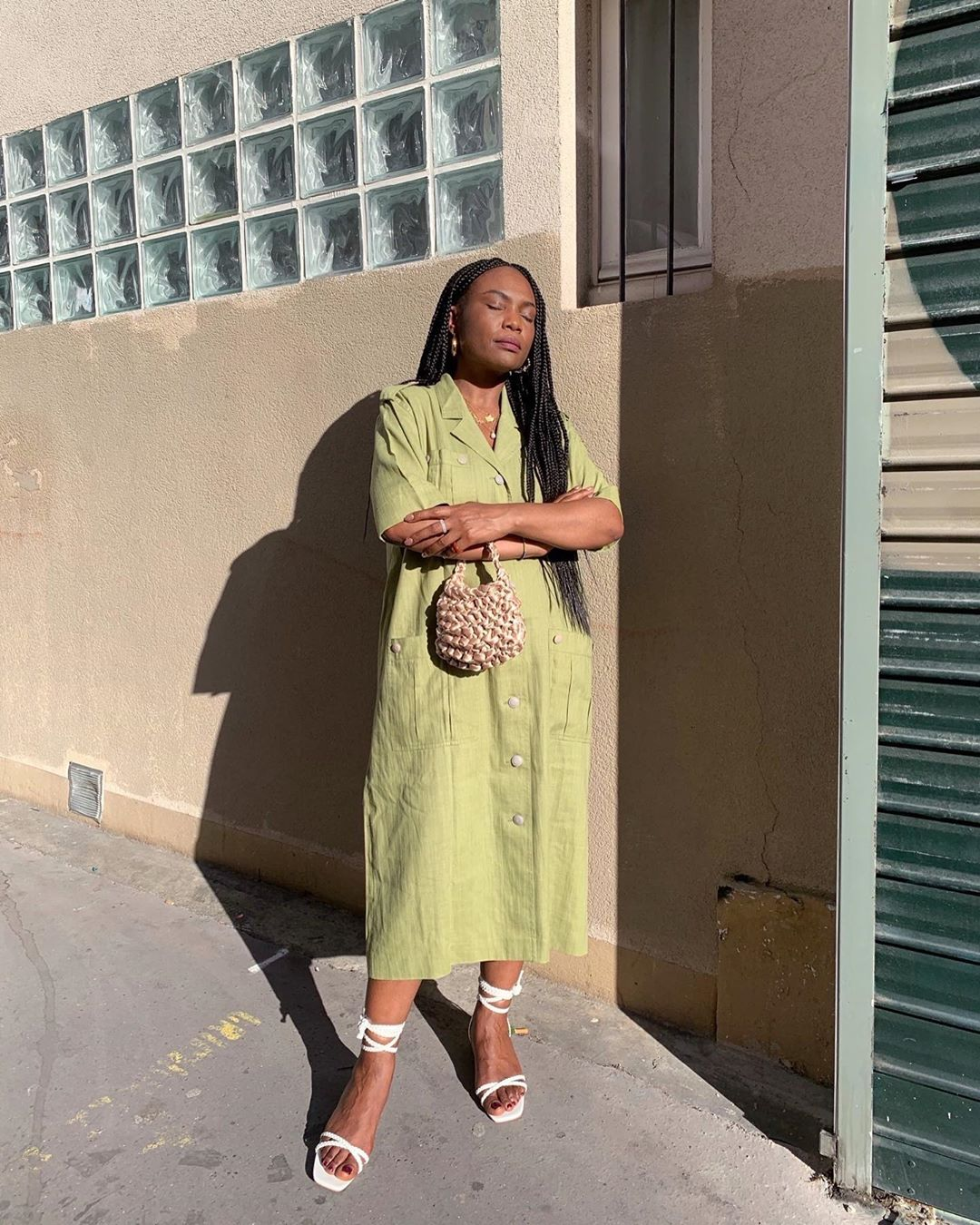 This Effortless Summer Outfit Will Make You Love Green