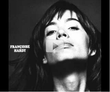 "Couverture de l'album ""La question"" de Francoise Hardy 1971"