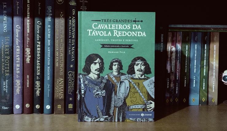 Imagem do livro Três grandes cavaleiros da távola redonda
