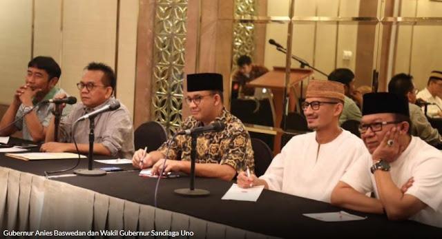 Panik Bakal Dicopot, Direksi BUMD DKI Eks 'Teman Ahok' Mulai Cari Muka ke Anies-Sandi