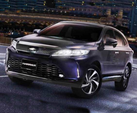 2019 Toyota Harrier Specs, Release Date, And Price