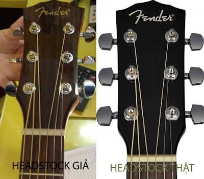 Nhận biết đàn Guitar chính hãng và Guitar nhái