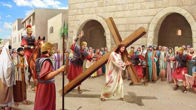 東方閃電|全能神教會|主耶穌背十字架