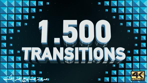 قالب افتر افكت 1500 انتقال اكثر من رائع   CS5 فأعلى
