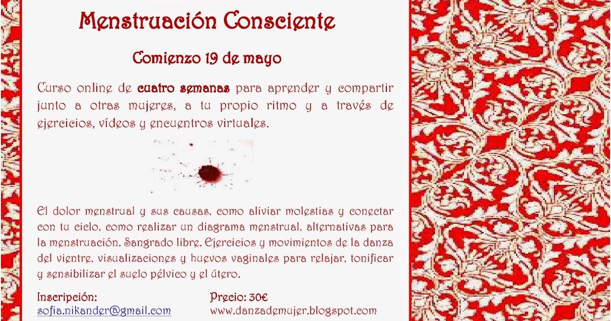Danza de Mujer: Curso online Menstruación Consciente