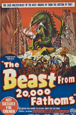 Poster - The Beast from 20,000 Fathoms (1953)