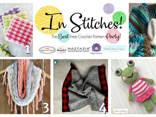 In Stitches - Best Free Crochet Pattern Link Up Party Week 6