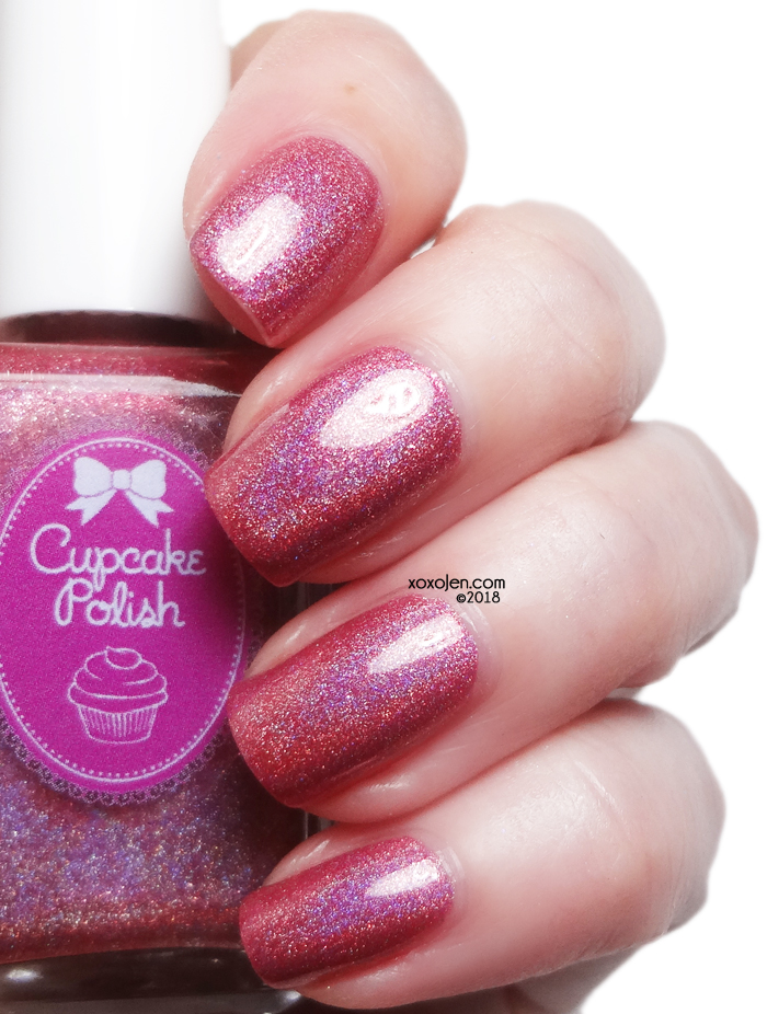 xoxoJen's swatch of Cupcake Dusty Romance