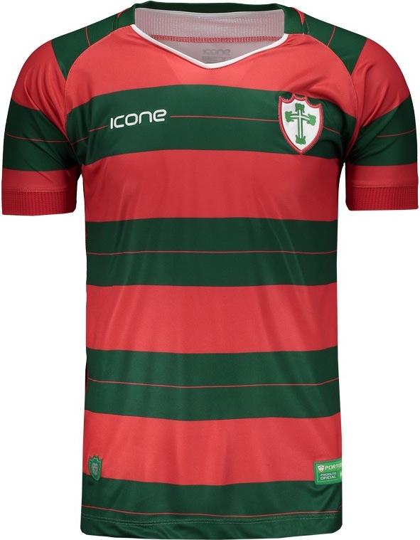 4e9d0450fd Ícone Sports lança as novas camisas da Portuguesa - Show de Camisas