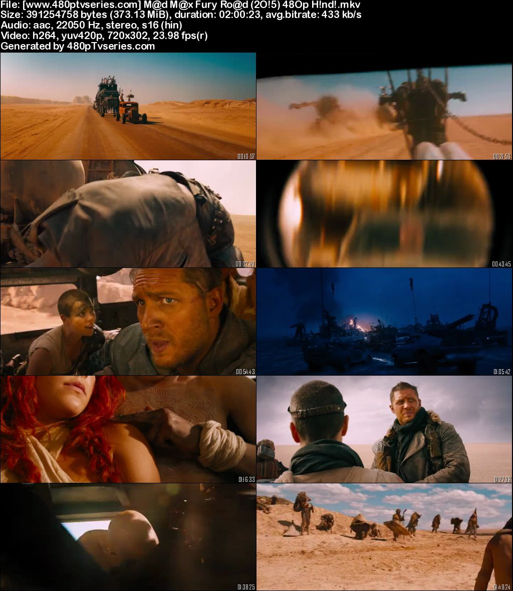 Mad Max Fury Road (2015) 350MB Full Hindi Dual Audio Movie Download 480p Bluray Free Watch Online Full Movie Download Worldfree4u 9xmovies