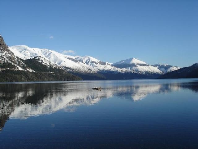 Pontos turísticos no Lago Gutiérrez em Bariloche
