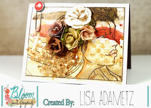 Bloom Girl Gardenia with Easy Background Tutorial