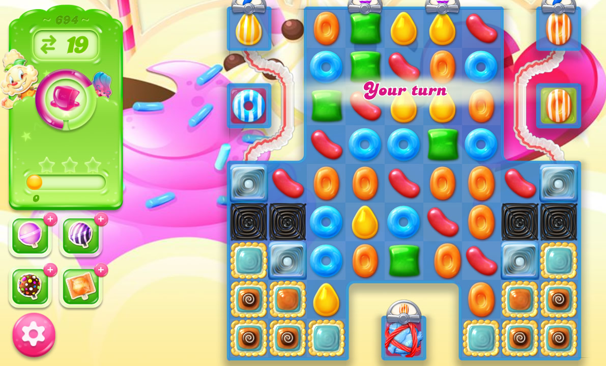 Candy Crush Jelly Saga level 694