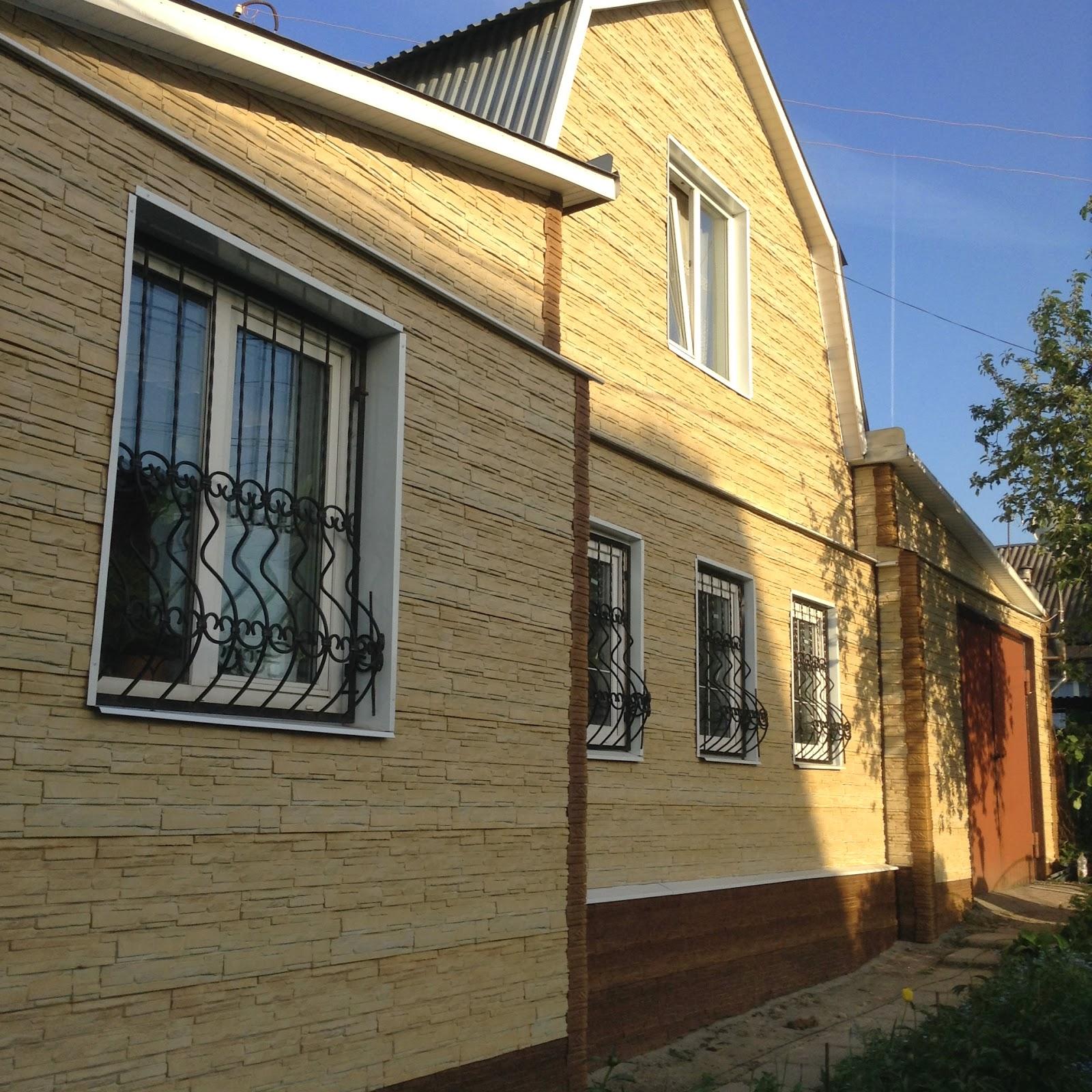 Фасадные панели в Туле, установка фасадных панелей, сделать фасад из сайдинга
