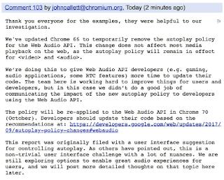 Chrome Press Release