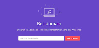 beli domain Hostinger