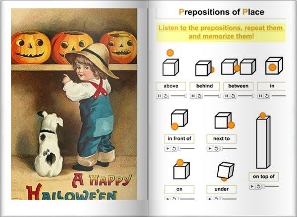 """Libro interactivo """"Halloween"""" (Área de Inglés de Educación Primaria)"""