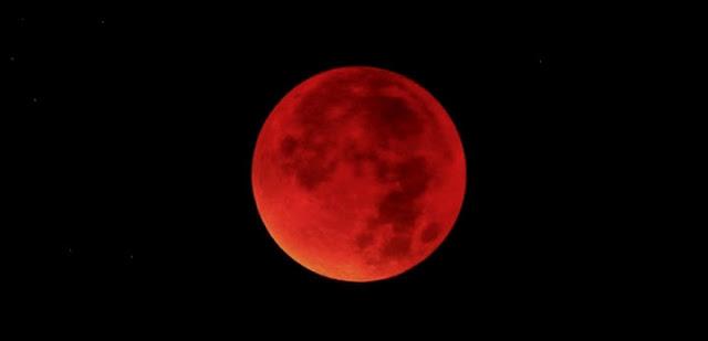 Eclipse lunar total - setembro de 2015 - Von Erichsen
