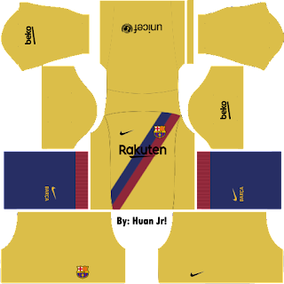 Kit Dream League Soccer Barcelona Away