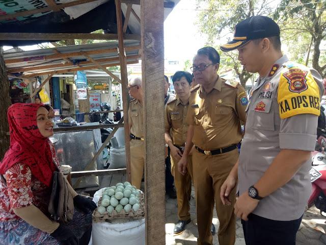 Harga Sembako di Pasar Kayuagung Relatif Terjangkau