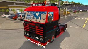 Scania 143M Meulman truck mod