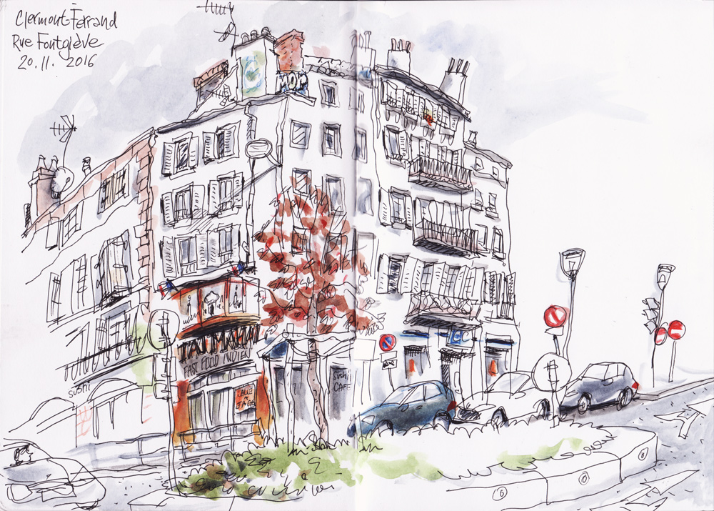 Restaurant Rue Fontgieve Clermont Ferrand