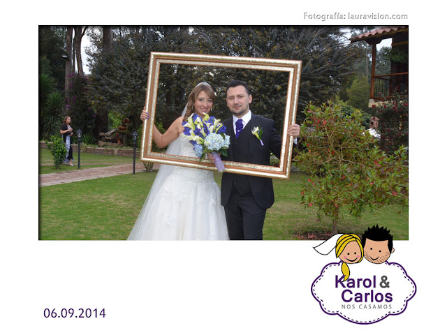 Fotocabinas para matrimonios en Subachoque