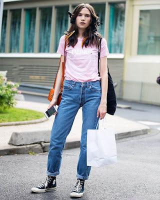 Outfits con CONVERSE casuales tumblr que debes PROBAR