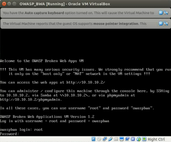 How to install and use Open Web Application Security Project Broken