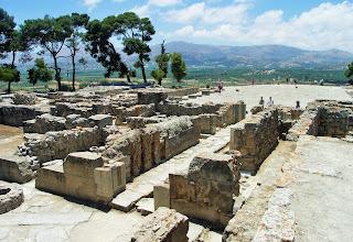 Faistos, Minojski Pałac