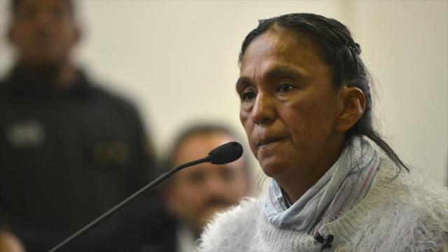 La activista indígena Milagro Sala, condenada a 3 años de prisión