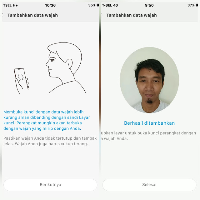 Mengaktifkan Fitur Face Unlock pada Xiaomi