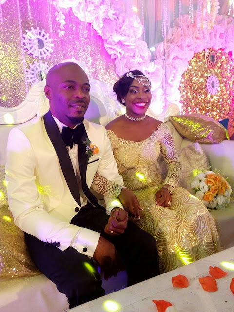 MMM Is Now 6th Most Visited Website In Nigeria; Man Who Brought The Scheme To Nigeria Chuddy Ugorji Gets Married With MMM Asoebi and Cake