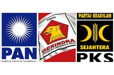 Gerindra, PAN, PKS Sepakat Berkoalisi di Pilgub Jatim 2018