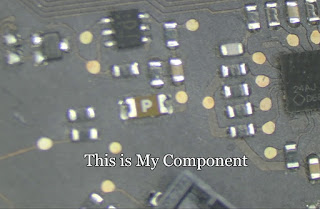 learn to unsolder then solder the component in a mobile phone circuit