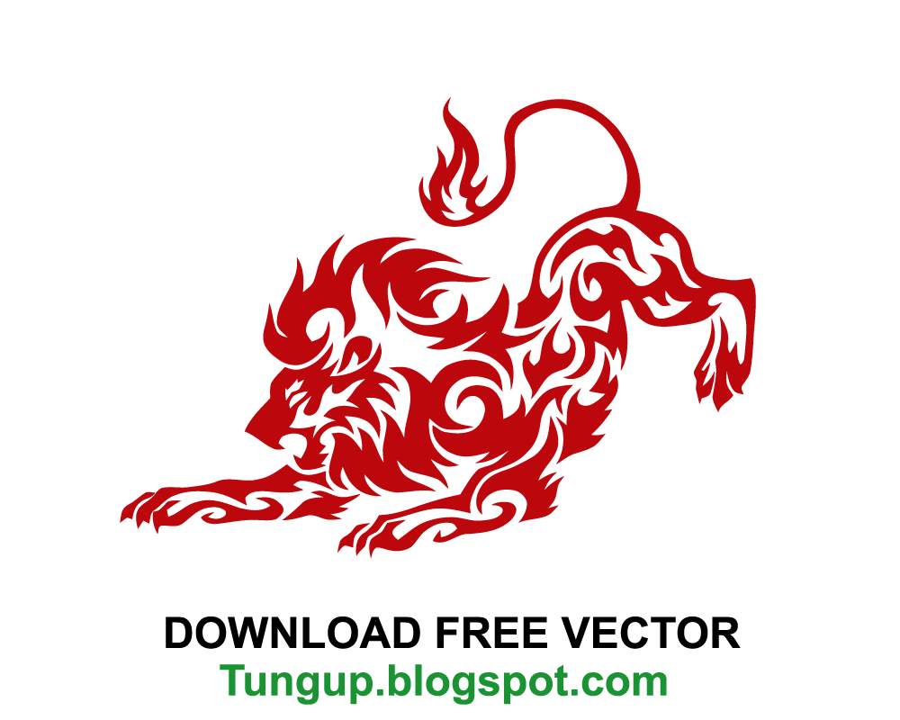 Free Download Logo Lion Abstract Nice Tung Up