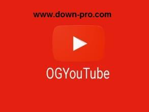 تحميل برنامج OGYoutube لتحميل مقاطع الفيديو مباشر الى الهاتف