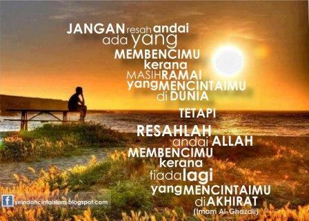kata mutiara bijak islami al ghazali