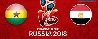مشاهدة مباراة غانا ومصر اون لاين موقع وصلة