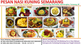 Pesan Nasi Kuning Semarang