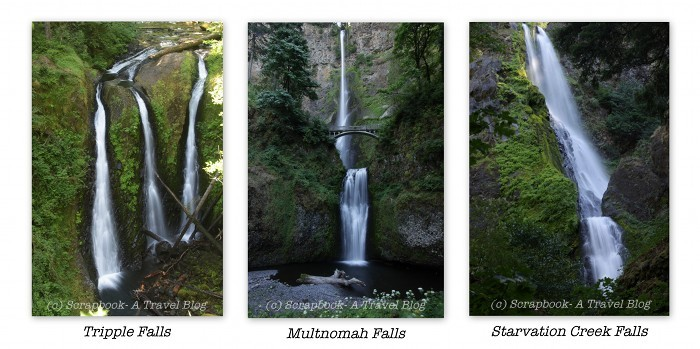 Columbia River Gorge Oregon Waterfalls