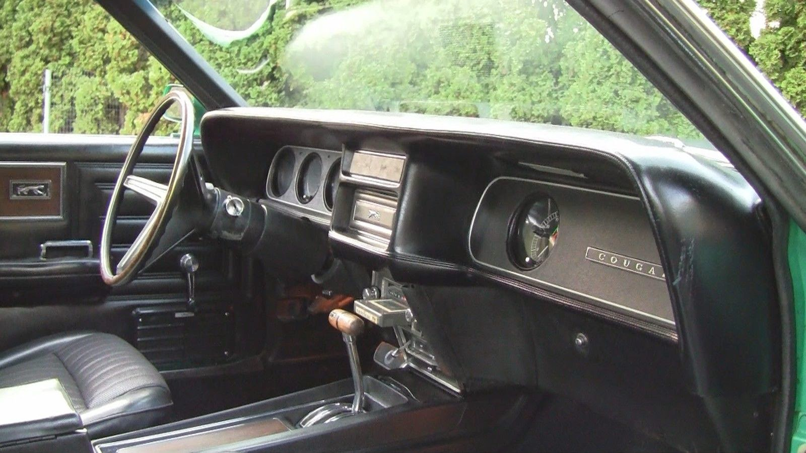 Mercury Cougar Interior