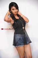 Kannada Actress Shama Taj in Denim Shorts at Engineers Movie Press Meet  0004.jpg